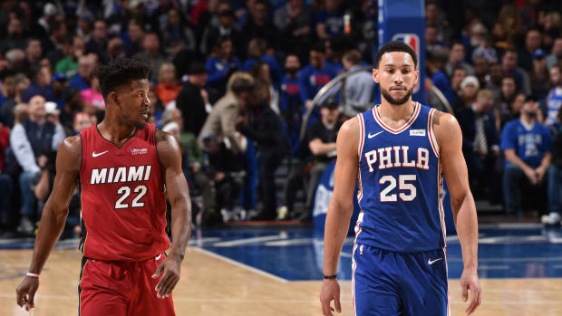 """Brian Scalabrine Says Miami Heat Should Make A Run For Ben Simmons- """"They Could Fix Him..."""""""