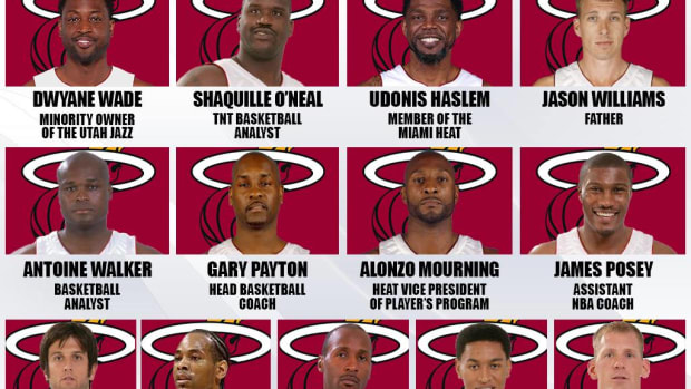 2006 NBA Champions Miami Heat: Where Are They Now?
