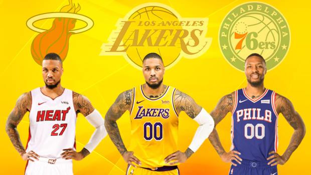 3 Teams Where Damian Lillard Can Win The NBA Championship