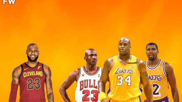 """Shaquille O'Neal On LeBron James In 2017: """"He Is A Mixture Of Michael, Shaq And Magic"""""""