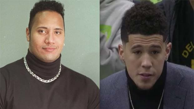 """Dwayne """"The Rock"""" Johnson Promised Devin Booker A Custom Fanny Pack If He Wins NBA Championship"""