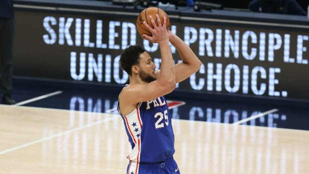"""Channing Frye Gives Some Shooting Advice To Ben Simmons- """"Work With The Other Hand, Because Then It's New, It's Fresh And You Don't Have The Yips."""""""