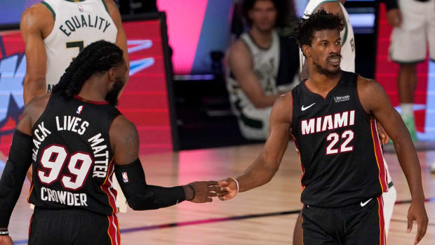 """Jimmy Butler And Jae Crowder Traded """"Borderline uncomfortable"""" Trash Talk During Miami Heat Practices"""