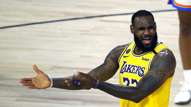 """LeBron James Named The """"Most Abused Athlete In The World."""""""