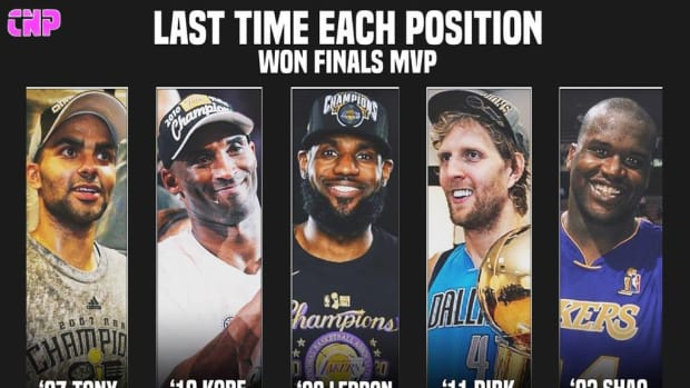 The Last Time Each Position Won Finals MVP: Chris Paul Could Be The First Point Guard Since Tony Parker