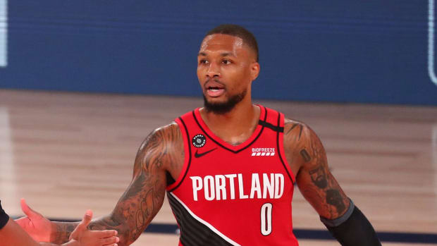 """Damian Lillard On His Poor Shooting Form: """"I Think I'm Playing Well. When I Watch The Film, I'm Playing The Game Well. I'm Just Not Making Shots."""""""