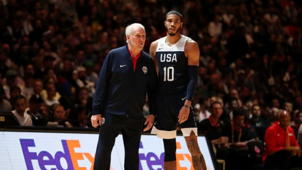 """Jayson Tatum On Team USA's Shocking Loss To Nigeria- """"We're Just Trying To Figure It Out."""""""