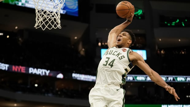 Giannis Antetokounmpo Has More 40-Point Games In The Finals Than Kobe Bryant, Kevin Durant, Stephen Curry, And Larry Bird
