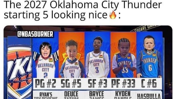 okc lineup