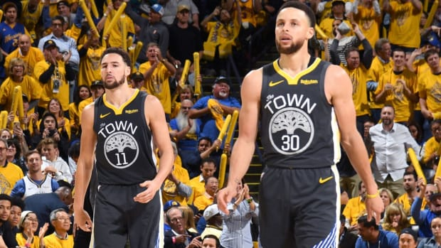 Andre Iguodala Reveals Who Is The Better Shooter Between Klay Thompson And Steph Curry