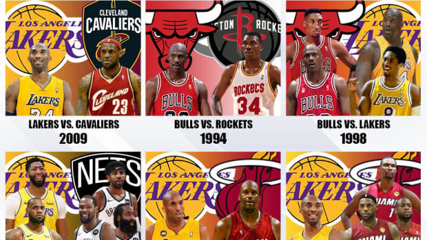 Top 10 Greatest NBA Finals That Never Happened