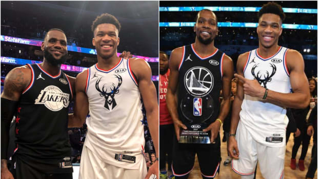 LeBron James, Giannis Antetokounmpo, and Kevin Durant Lead The Top 15 Most Popular NBA Jerseys