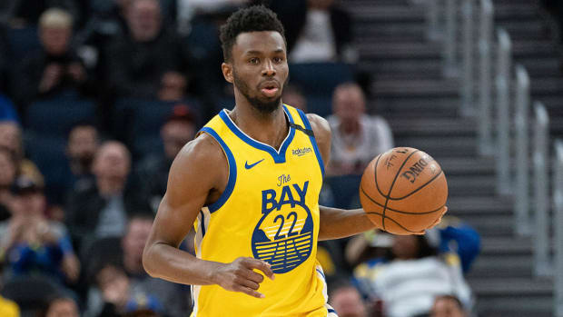 """Warriors Executive On Trading Andrew Wiggins- """"Am I Going To Tell Him That He Will Never Get Traded At Any Point? No."""""""