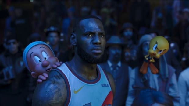 Amazing Inside Look At Space Jam 2 Filming Goes Viral