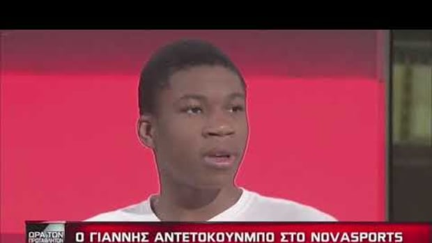 Giannis Antetokounmpo Admits In His First Interview In Greece That He Didn't Want To Play Basketball