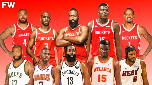PJ Tucker Beat All Of His Former Rockets Starting Teammates On His Way To The Championship: Trevor Ariza, James Harden, Clint Capela, And Chris Paul