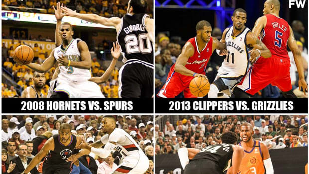 Chris Paul Is The Only Player In NBA History To Blow Four 2-0 Leads In The Playoffs