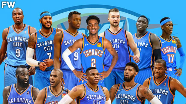 Oklahoma City Thunder: Creating The Perfect Roster From Best Active Players Who Have Ever Played For Them