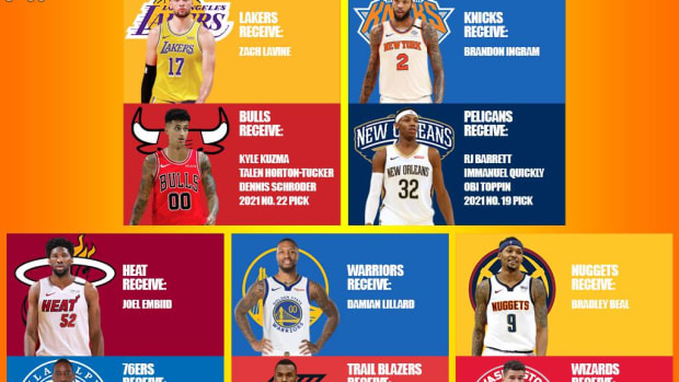 5 Best Mock Trade Ideas That Would Be Interesting To See: Lillard To Warriors, Embiid To Heat