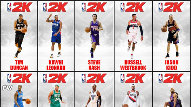 10 Greatest NBA Players Without A 2K Cover: Russell Westbrook Really Deserves A Cover