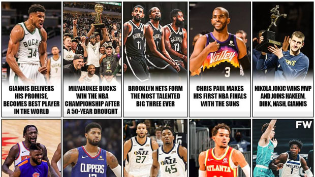 10 Best Stories Of The 2021 NBA Season: Giannis Makes History, Nets Create The Best Big 3 Ever