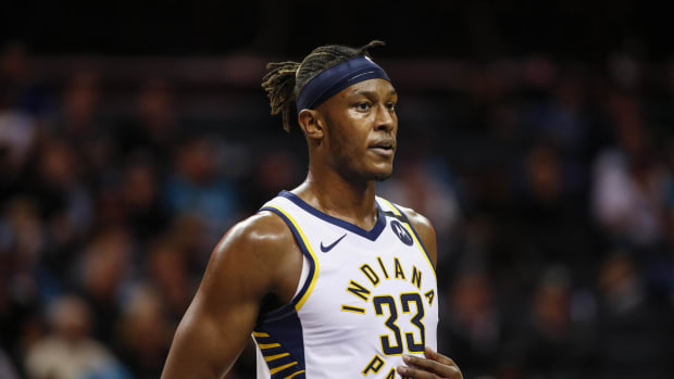 NBA Rumors- Warriors And Pacers Have Discussed A Myles Turner Trade