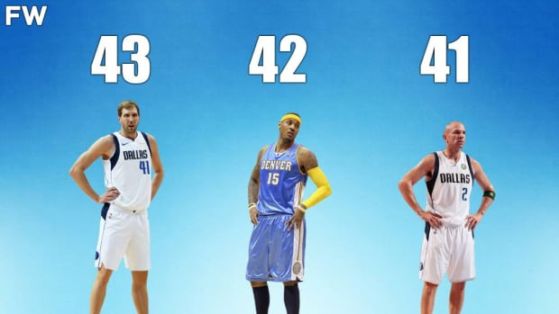 10 Players With The Most First-Round Losses In NBA Playoffs History