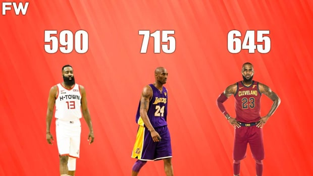 10 NBA Players With The Most 4th Quarter Points In A Single Regular Season Since 1997