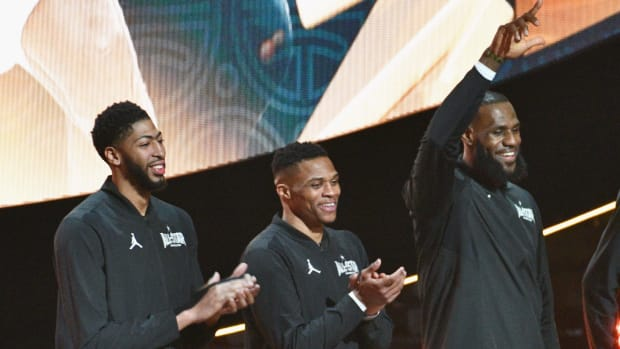 Magic Johnson Reacts To Russell Westbrook Trade