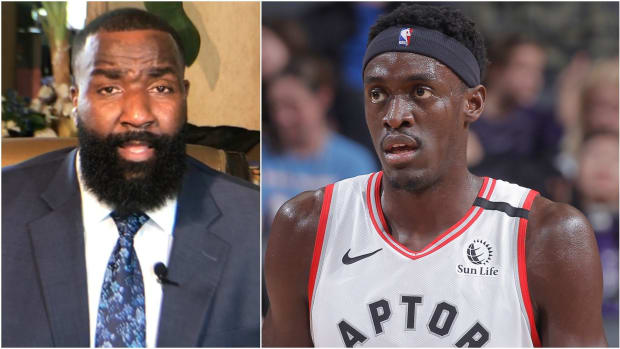 """Kendrick Perkins Says Pascal Siakam Era Is Over In Toronto, Asks For """"Moment Of Silence"""" During Draft"""