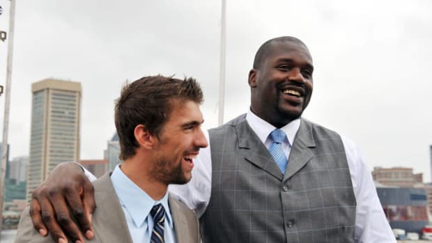 """Shaquille O'Neal Almost Beat Michael Phelps In A Swimming Race: """"Shaq Should Have Called Himself Shaquaman"""""""