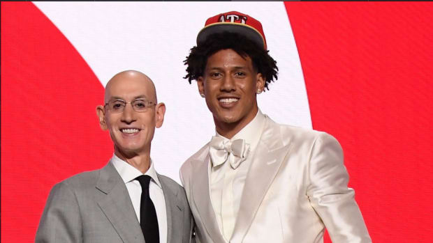 """Jalen Johnson: """"I've Only Watched Four Players Really Hard: Penny Hardaway, Magic Johnson, LeBron James, Ben Simmons."""""""
