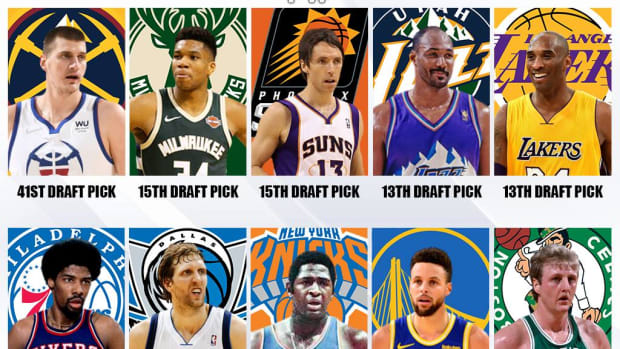 Top 10 Lowest Drafted MVPs In NBA History