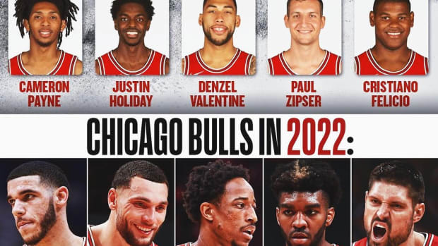 Chicago Bulls Starting Lineups In 2018 And 2021: From Lottery Team To Contenders In The East