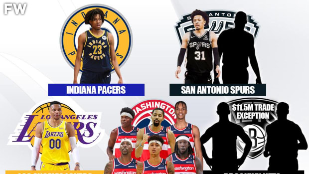The Full Details Of 5-Team Trade: Wizards Add Spencer Dinwiddie And Aaron Holiday As Lakers Secure Russell Westbrook
