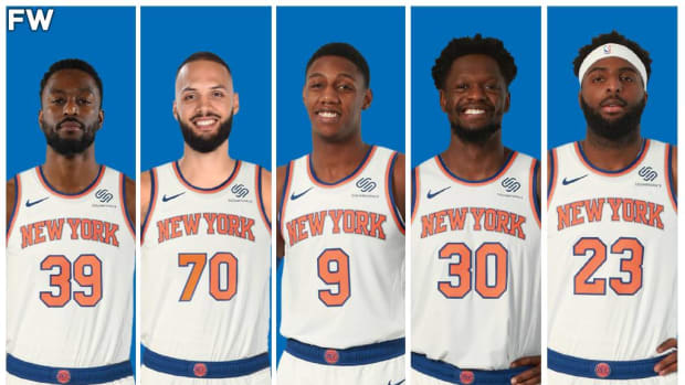 The New York Knicks Starting Lineup Could Make Some Noise In The East Next Season