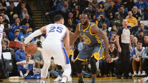 """NBA Rumors- Warriors """"Split"""" On If Ben Simmons Will Fit Alongside Draymond Green"""