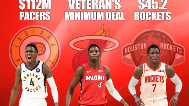 Victor Oladipo Is The Biggest Loser Of Free Agency After Rejecting $112M From Pacers And $45.2M From Rockets Only To Sign A Veteran's Minimum Deal This Offseason