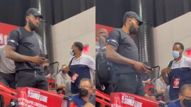 Donovan Mitchell Slams Spurs Fan For Teaching His Son To Insult Kawhi Leonard: 'F**k Kawhi, F**k Kawhi'