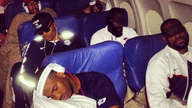 NBA Stars Caught On Camera Taking A Nap: LeBron James, Chris Paul, James Harden All Sleeping Deep