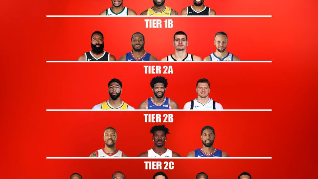 NBA Fans Argue On The Athletic's Player Tiers: 'If You Woke Up Today And Wanted To Argue With Someone. This Is Your Thread.'