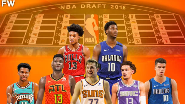 Re-Drafting the 2018 Draft Class: Luka Is The Clear No. 1 Overall Pick, Trae Young Goes To Sacramento As No. 2