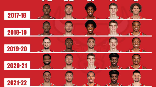 The Evolution Of The Chicago Bulls: Starting Lineups For The Past 5 Seasons
