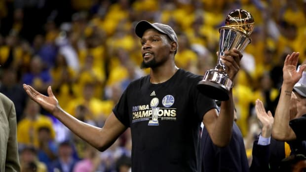 """Kevin Durant On Why He Left The Thunder- """"I Always Knew That I Wanted To End Up In Golden State... I Would Do That Sh*t A Million Times."""""""