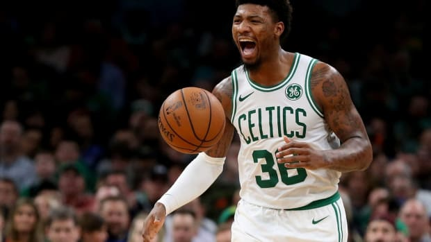 """Stephen A. Smith On Marcus Smart's Contract Extension: """"There Is No Way That Marcus Smart Should Be Getting Less Than $20Million A Year"""""""