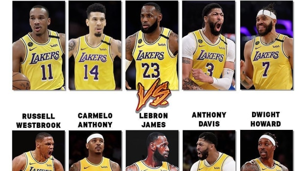 Los Angeles Lakers Starting Lineups In 2020 And 2022: From NBA Champions To A Real Superteam