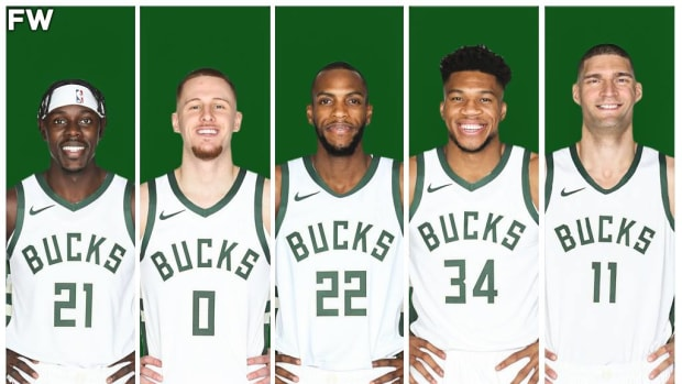 The Milwaukee Bucks Potential Starting Lineup: Giannis Must Beat The Nets Again If He Wants To Win Back-To-Back Championships