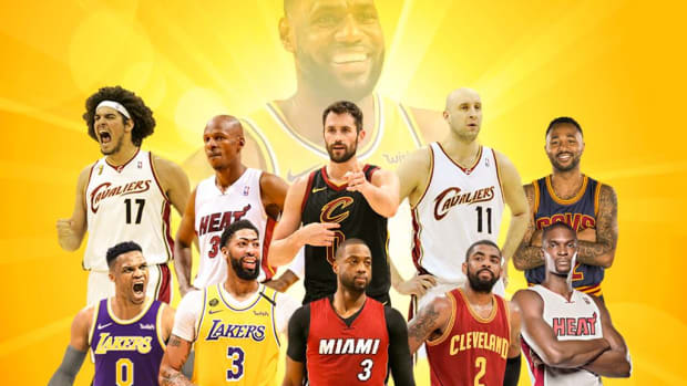 Ranking LeBron James' Greatest Teammates In His Career