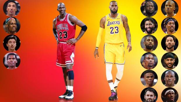 Michael Jordan vs. LeBron James: Who Played With More Hall Of Fame Players?