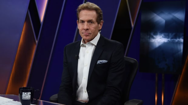 """Skip Bayless 'Shocked' That The Lakers Lost Despite 34-Point Performance From LeBron James: """"This Can't Be."""""""